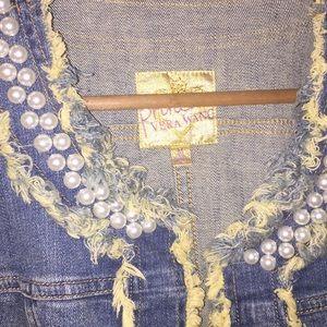 4f49e836b princess vera wang Jackets & Coats - Princess Vera Wang Crop Jean Jacket